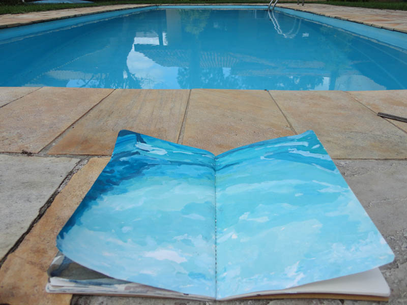 piscina de pinda