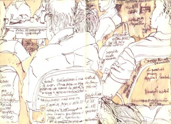 caderno de desenho 2009