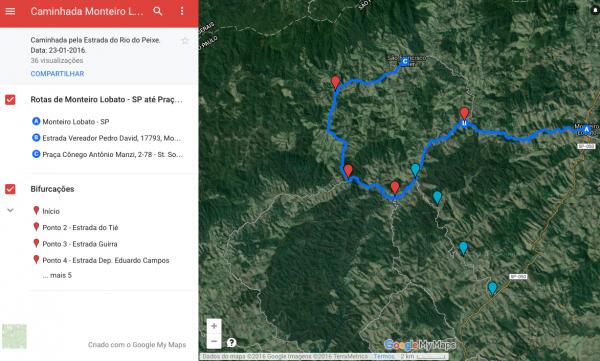 Mapa gmaps tamara